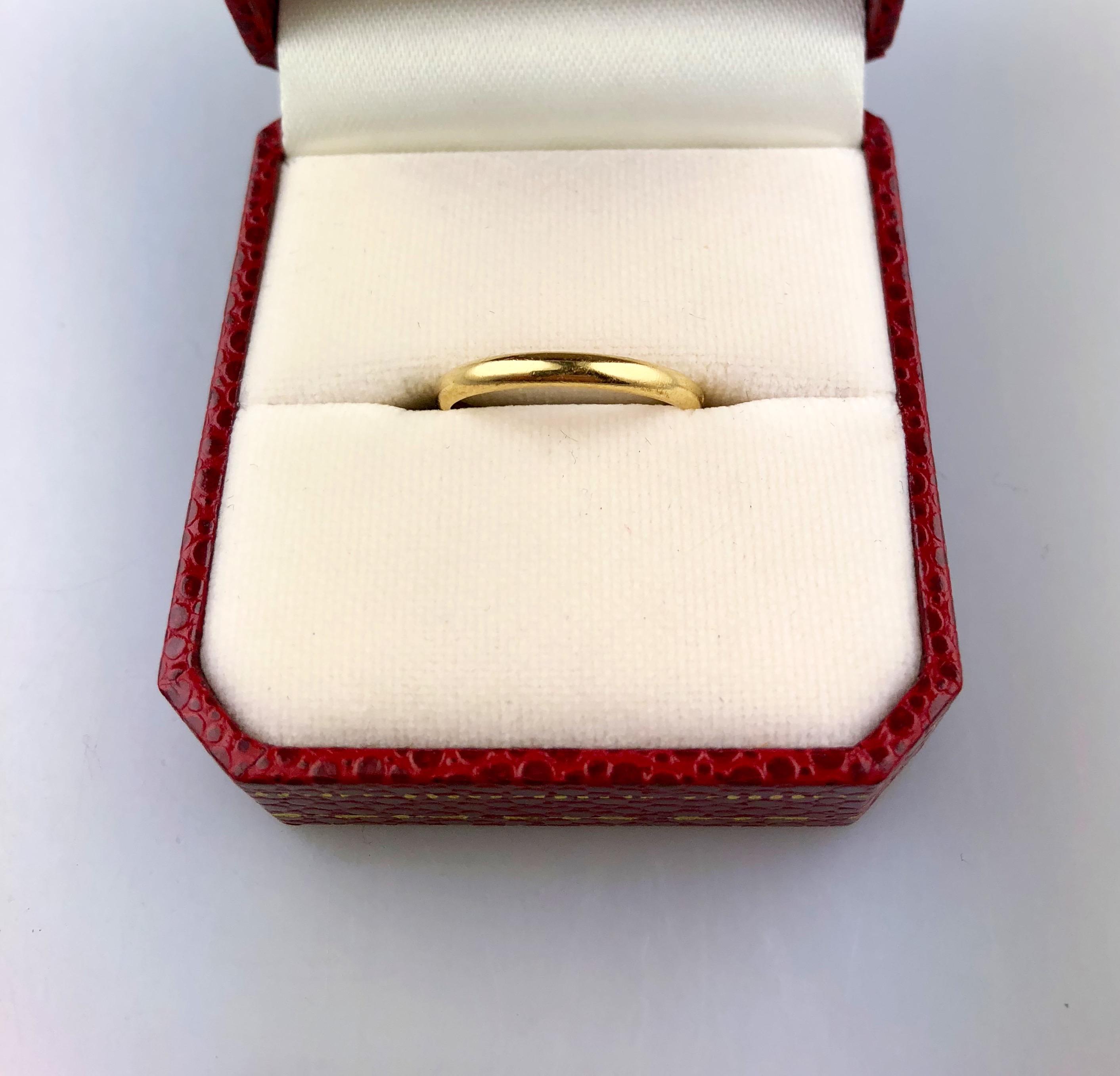 Cartier Wedding Band.Cartier Wedding Band J465